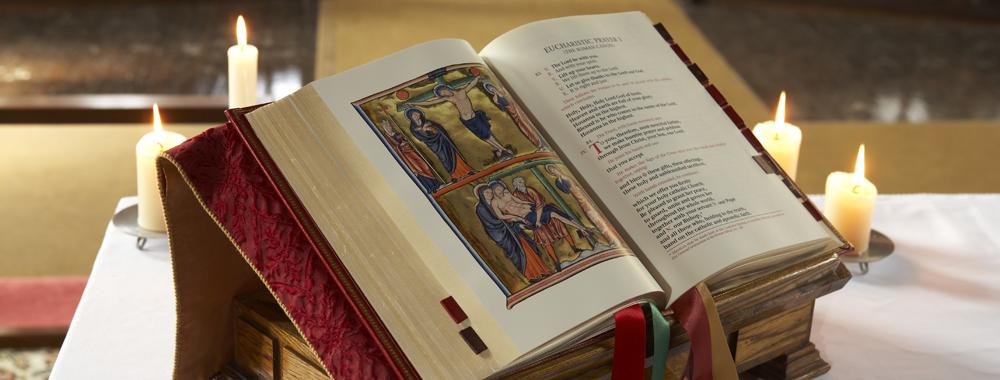 Missal on Lectern