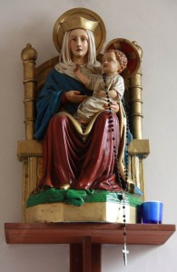The statue of OLW at Holy Trinity Church